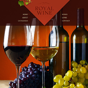 Wine Website Template