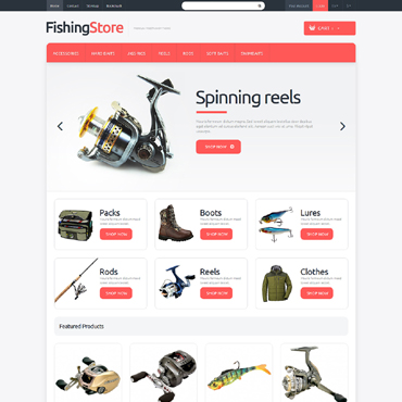 Fishing Responsive PrestaShop Theme