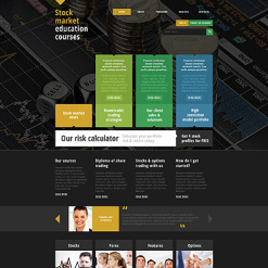 Career Education Responsive Website Template