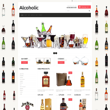 Food & Drink Responsive Jigoshop Theme