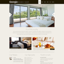 Hotels Responsive WordPress Theme
