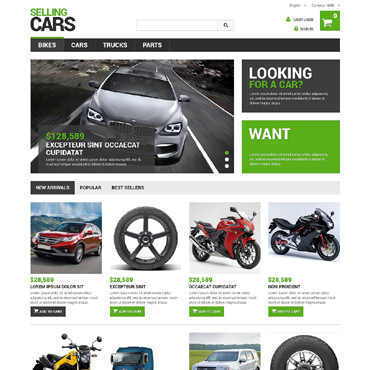 Car Dealer Responsive PrestaShop Theme
