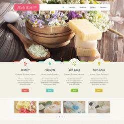 Crafts Responsive Website Template