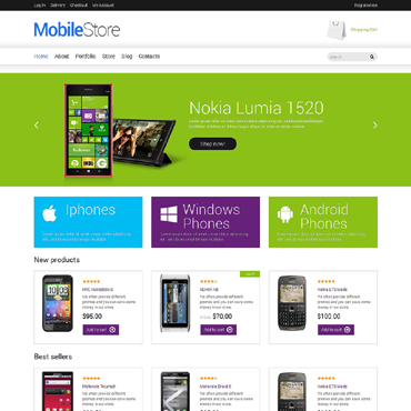 Mobile Store Responsive WooCommerce Theme