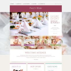 Event Planner Responsive Website Template