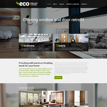 Window Responsive Website Template