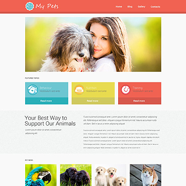 Pet Shop Responsive WordPress Theme
