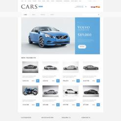 Car Dealer OsCommerce Template