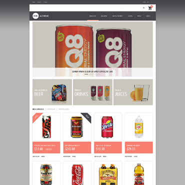 Food & Drink Responsive PrestaShop Theme