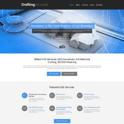 Drafting Responsive Website Template