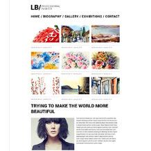 Artist Portfolio Responsive Website Template