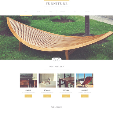 Furniture Responsive Joomla Template