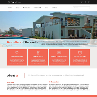 Real Estate Agency Responsive Joomla Template