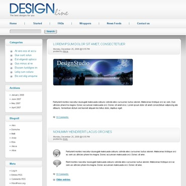 Design Studio PSD Template