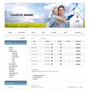 Christian PSD Template