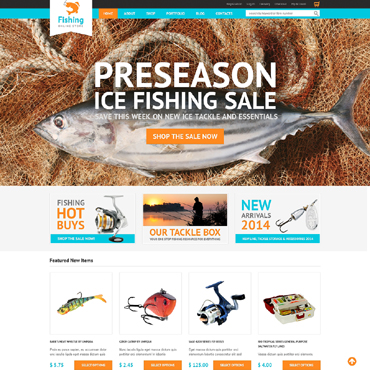 Fishing WooCommerce Theme