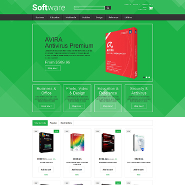 Software Company Responsive PrestaShop Theme