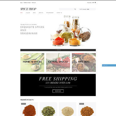 Spice Shop Responsive Shopify Theme