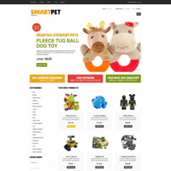 Toy Store VirtueMart Template