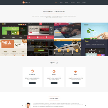Web Design Services Joomla Template #50540