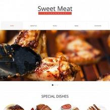 Steakhouse Moto CMS HTML Template
