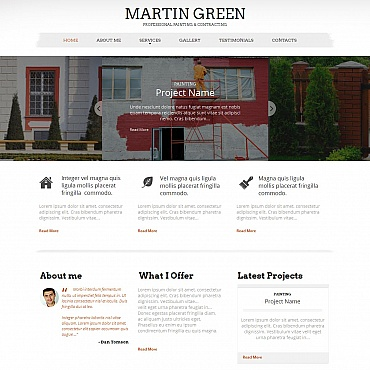 Home Repairs Moto CMS HTML Template