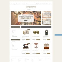 Antique Store Responsive Shopify Theme