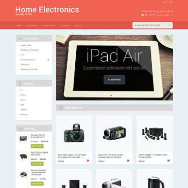 Electronics Responsive Magento Theme