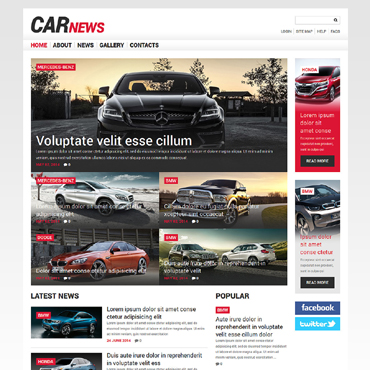Car Responsive Joomla Template