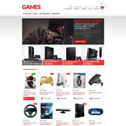 Games VirtueMart Template