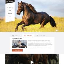Horse Racing Drupal Template