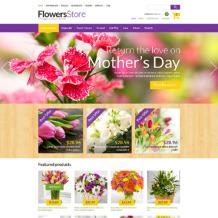 Flower Shop ZenCart Template