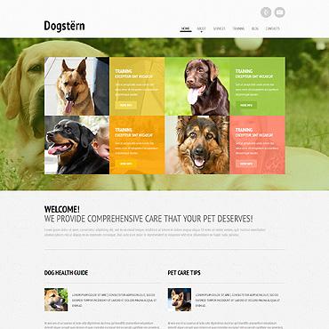 Dog Responsive Website Template