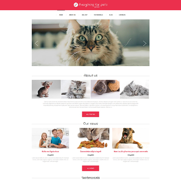 Animals & Pets Drupal Template