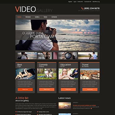 Video Lab WordPress Theme