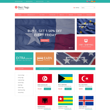 Politics OsCommerce Template