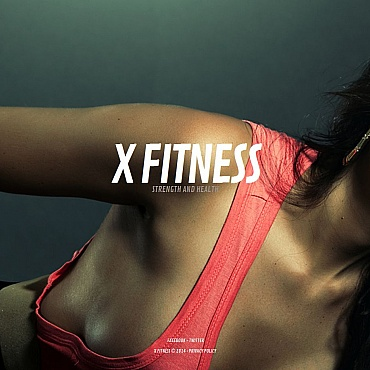 Fitness Moto CMS HTML Template