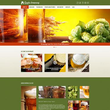 Brewery Responsive Joomla Template