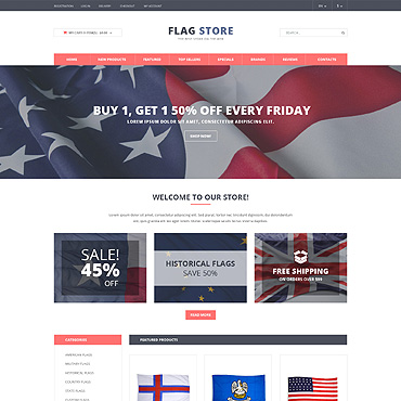Politics PSD Template