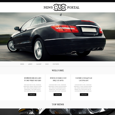 Car Club Muse Template