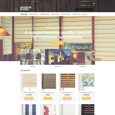 Window Decor Responsive Magento Theme