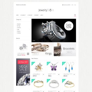 Fine Jewelry Magento Theme #51276