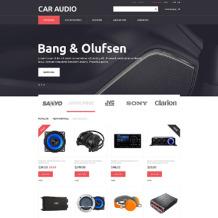 Car Audio Responsive PrestaShop Theme
