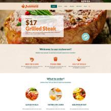 Fast Food Restaurant Responsive Joomla Template