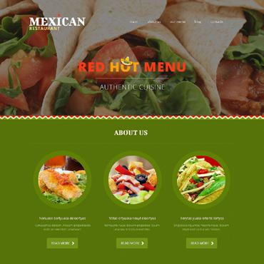 Mexican Restaurant Responsive Joomla Template