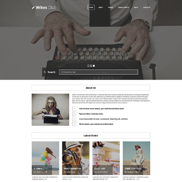 Books Responsive WordPress Theme