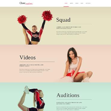Cheerleading Responsive Joomla Template