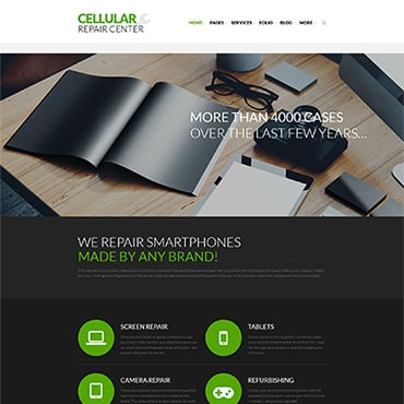 Electronics Responsive WordPress Theme