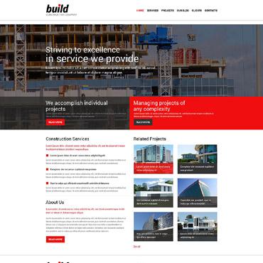 Construction Company Responsive Joomla Template