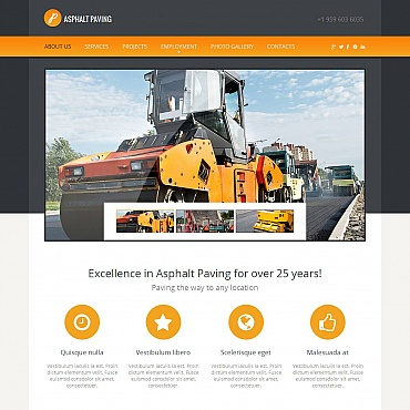 Civil Engineering Moto CMS HTML Template